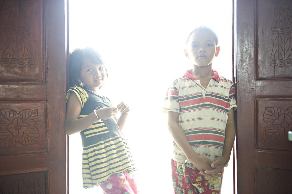 Kinder im Waisenhaus in Thalaborivat