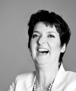 Heide Liebmann lachend