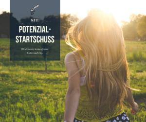 Potenzial-Startschuss Angebot für Kurzcoaching