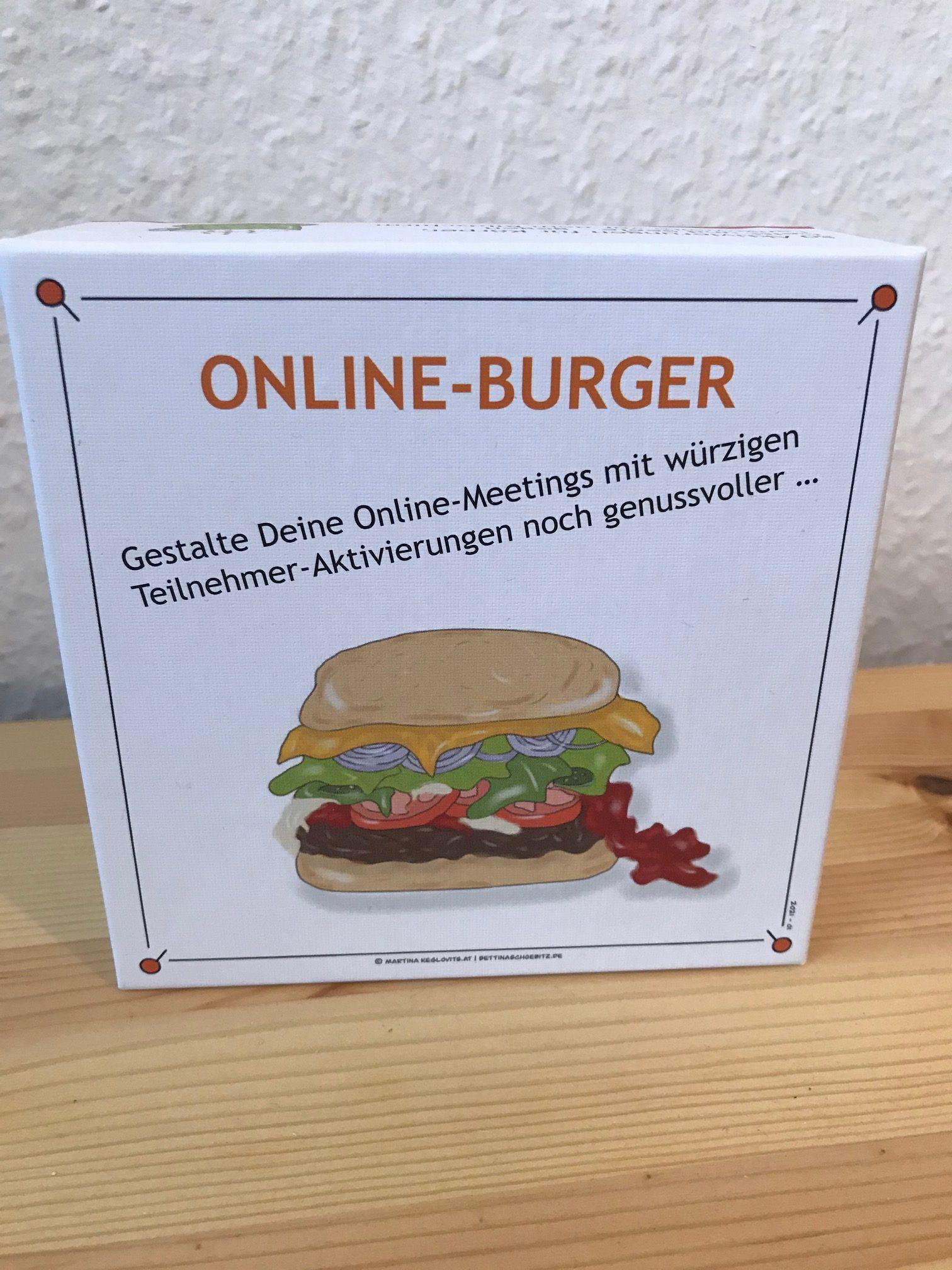 Kartenset Online-Burger