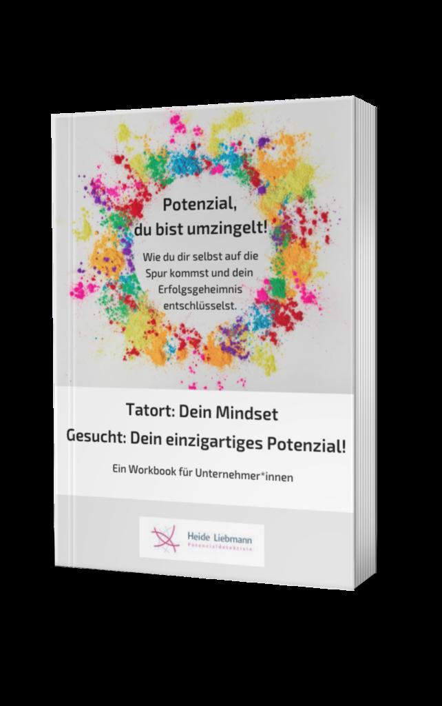 Cover Workbook für Unternehmer*innen: Potenzial, du bist umzingelt!